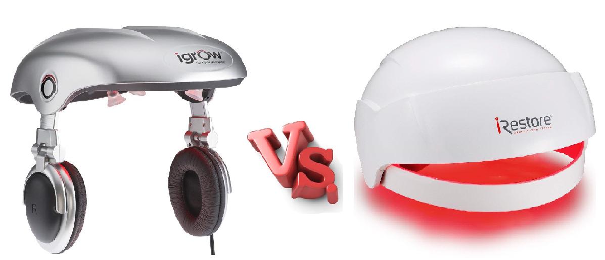 iGrow vs iRestore Laser Cap
